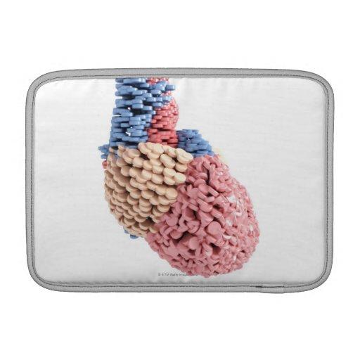 Pills Heart Sleeves For MacBook Air