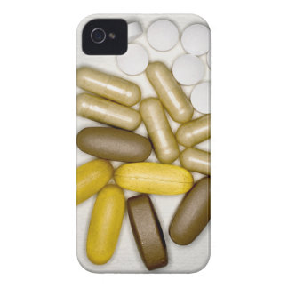 Pills on paper iPhone 4 cover
