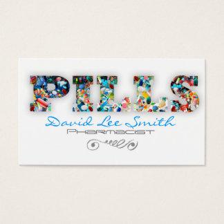 Pills/Pharmacist Business Card