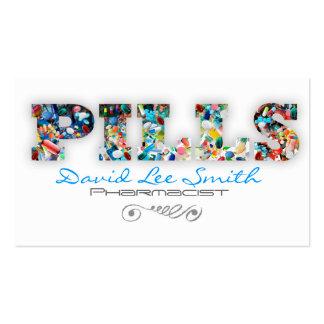 Pills / Pharmacist Tarjeta De Visita
