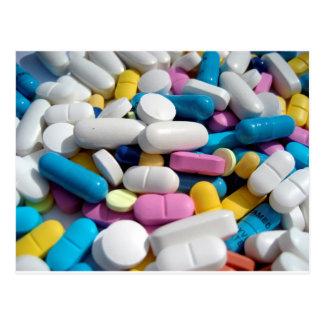 Pills Postcard
