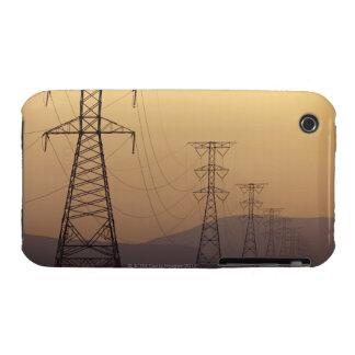 Pilones de la electricidad iPhone 3 funda