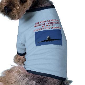 PILOT airline joke Dog Tee Shirt