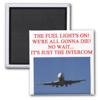 PILOT airline joke Magnet
