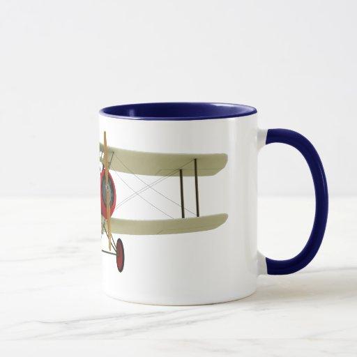 Pilot and Biplane Mug