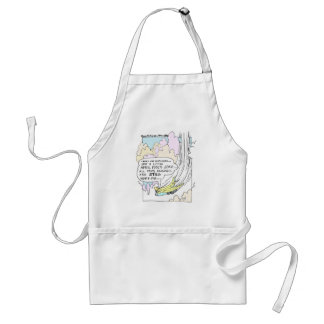 Pilot April Fools Cartoon Funny Gifts & Tees Adult Apron