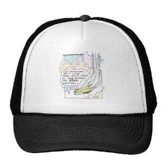 Pilot April Fools Cartoon Funny Gifts & Tees Trucker Hat