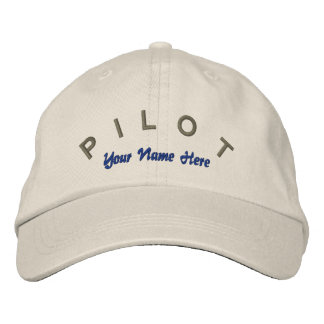 Pilot Aviator Custom Hat