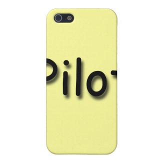 Pilot black iPhone SE/5/5s cover
