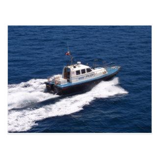 Pilot Boat At Speed Postcard