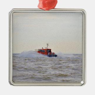 Pilot Boat Ornament
