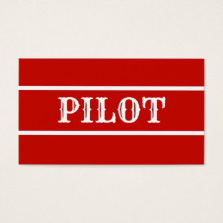 Pilot Business Card