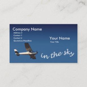 Aviation business cards zazzle pilot business card colourmoves