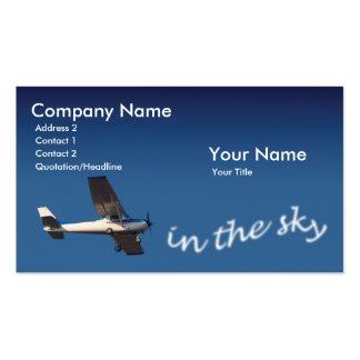 Pilot Business Card Templates