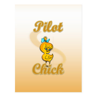 Pilot Chick Postcard