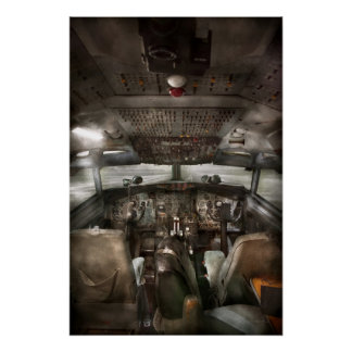 Pilot - Cockpit - We need a pilot or two Perfect Poster