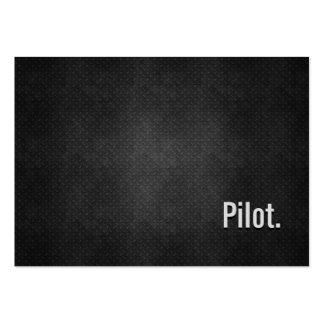 Pilot Cool Black Metal Simplicity Business Cards