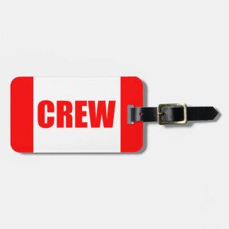 Pilot Crew Tag CUSTOMIZABLE Bag Tag