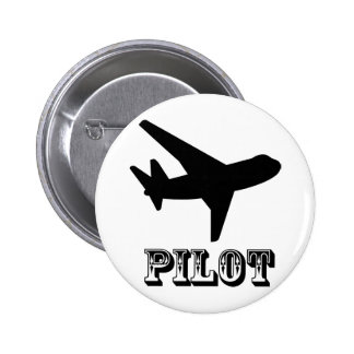 Pilot Design Airplane cool gifts Buttons