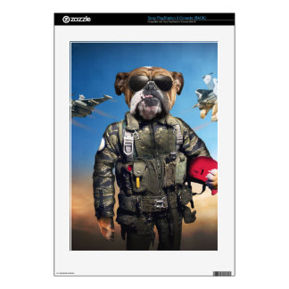 Pilot dog,funny bulldog,bulldog PS3 skin