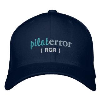 Pilot Error Roger Hat Embroidered Hats