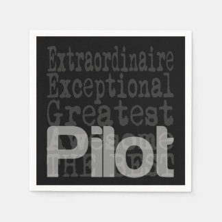 Pilot Extraordinaire Napkin