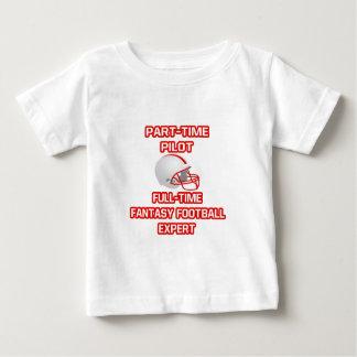 Pilot .. Fantasy Football Expert Baby T-Shirt