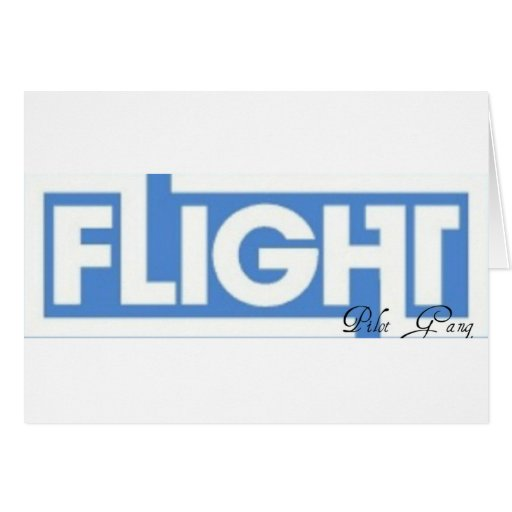 Pilot Gang Over Everything Greeting Card