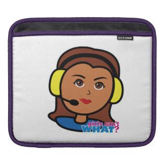 Pilot Girl iPad Sleeve