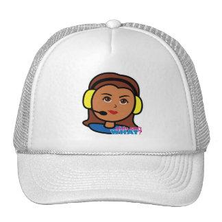 Pilot Girl Trucker Hats
