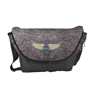 Pilot Gray Courier Bag