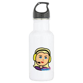 Pilot Head Light/Blonde Water Bottle
