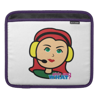 Pilot Head Light/Red Sleeves For iPads