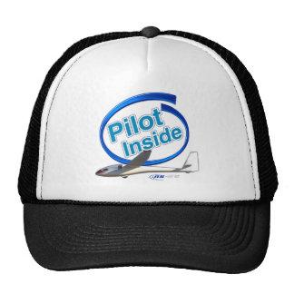 Pilot Inside ASW 15 Glider Trucker Hat
