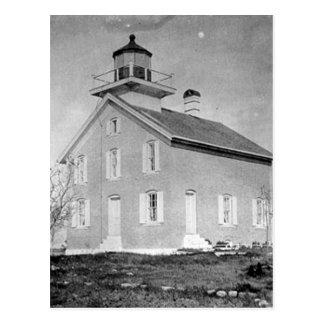 Pilot Island Lighthouse Postcard