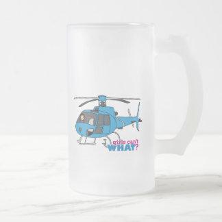 Pilot Medium Frosted Glass Beer Mug
