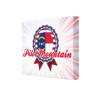 Pilot Mountain, NC Stretched Canvas Prints