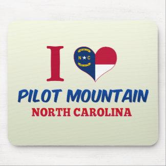 Pilot Mountain, North Carolina Mouse Pads