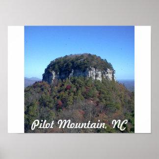 Pilot Mountain Poster
