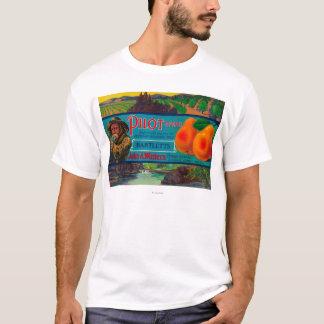 Pilot Pear Crate LabelEl Dorado County, CA T-Shirt