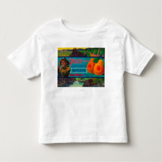 Pilot Pear Crate LabelEl Dorado County, CA Toddler T-shirt
