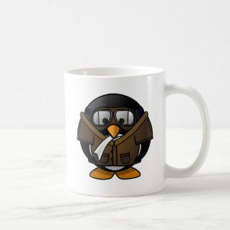 Pilot Penguin Coffee Mug