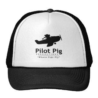 Pilot Pig Trucker Hat