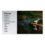 Pilot - Plane - German WW1 Fighter - Fokker D VIII Double-Sided Standard Business Cards (Pack Of 100)