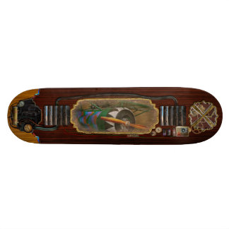 Pilot - Plane - German WW1 Fighter - Fokker D VIII Skateboard Deck