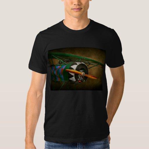 Pilot - Plane - German WW1 Fighter - Fokker D VIII T-shirt