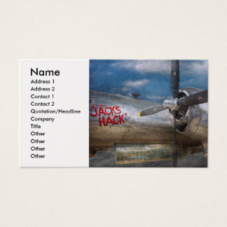 Pilot - Plane - The B-29 Superfortress Business Card