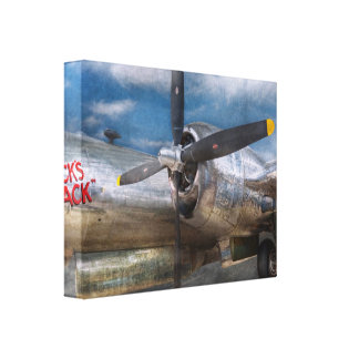 Pilot - Plane - The B-29 Superfortress Gallery Wrapped Canvas