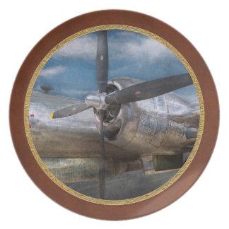 Pilot - Plane - The B-29 Superfortress Melamine Plate