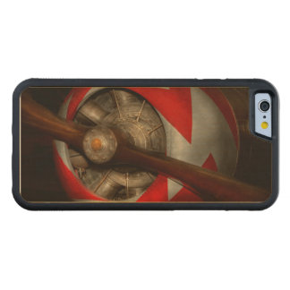 Pilot - Prop - Built for speed Carved Maple iPhone 6 Bumper Case
